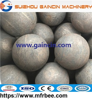 grinding media steel ball, steel forged mill balls for minining mill