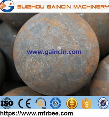 Forged Steel Medai Grinding Balls, Rolled Grinding Balls and Cast Grinding Balls