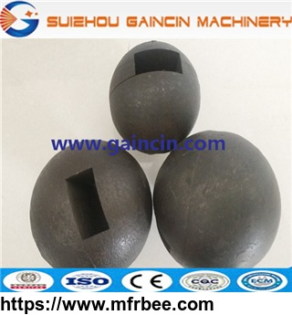 high alloy forged steel grinding media, grinding media milling rolled balls