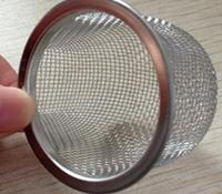Stainless Steel Rimmed Bowl/Dome Shape Filter