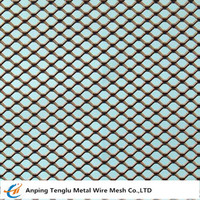 Expanded Metal Square Mesh