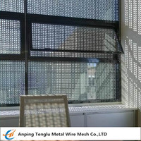 Perforated Aluminum Security Screens