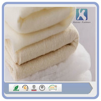 more images of Natural White Raw polyester set bed sheet quilt batting roll