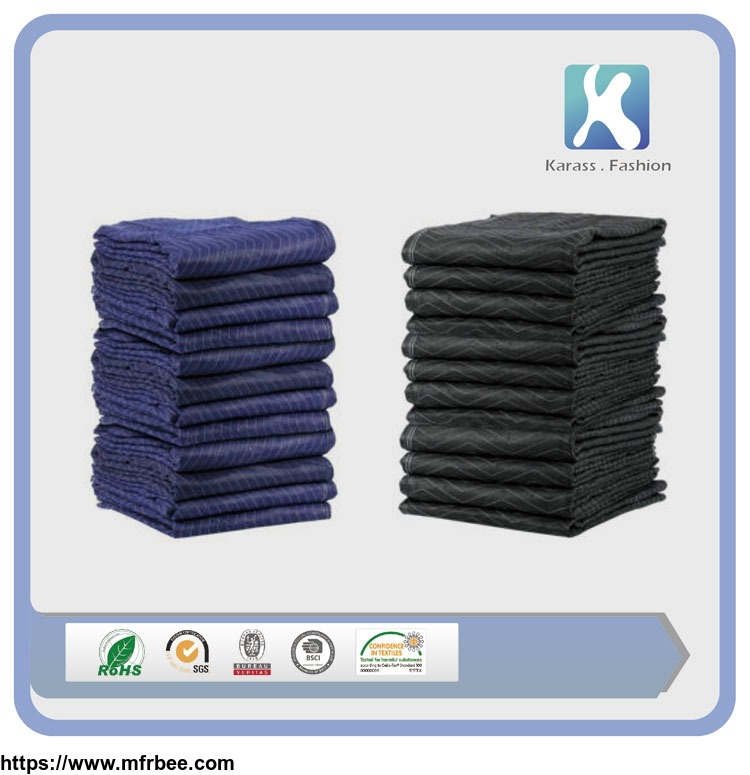 quilted_woven_polyester_moving_blankets_furniture_packing_pads