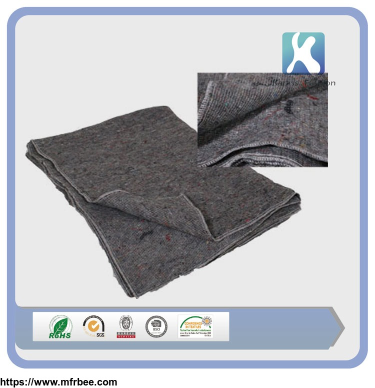 Polyester blanket cheap quilted furniture moving pads for Furniture moving pads