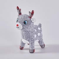 Christmas reindeer plush