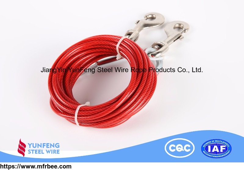 high_elasticity_copper_plating_wear_resistant_nylon_coated_steel_wire_rope