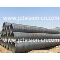 API 5L GR.B Carbon Spiral Welded SSAW Steel Pipe