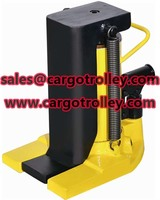 Lifting moving jack competitive price