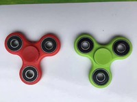 Factory cheap price high quality LED finger hand plastic game fidget spinner release toys fidget spinner  for sale