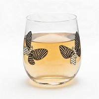 High quality butterfly old fashioned glass cup /whiskey glass/short whiskey glass