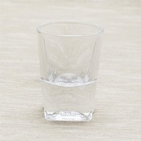 Small Squar bottom Design drinking water/whisky glass set