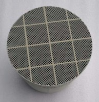 Cordierite  Ceramic DPF Substrate Monoliths Diesel Particulate Filter