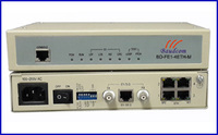 E1 to 4*10/100BaseT Ethernet converter with Local management