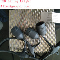 Christmas,holiday,festive,wedding, party LED strign light,energy saving, weatherproof, impact resistant bulb