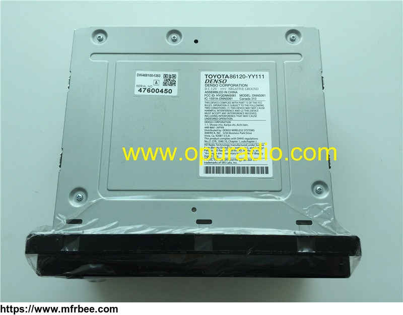100_percentage_brand_new_oem_factory_toyota_voice_navigation_nscd_w12u_a_nscd_w12u_a_b_denso_86120_yy111_yy210_hd_radio_wma_mp3_map_camera_for_2013_2015_sienna_sequoia_tundra_2012_2013_ewd_car_cd_player_receiver