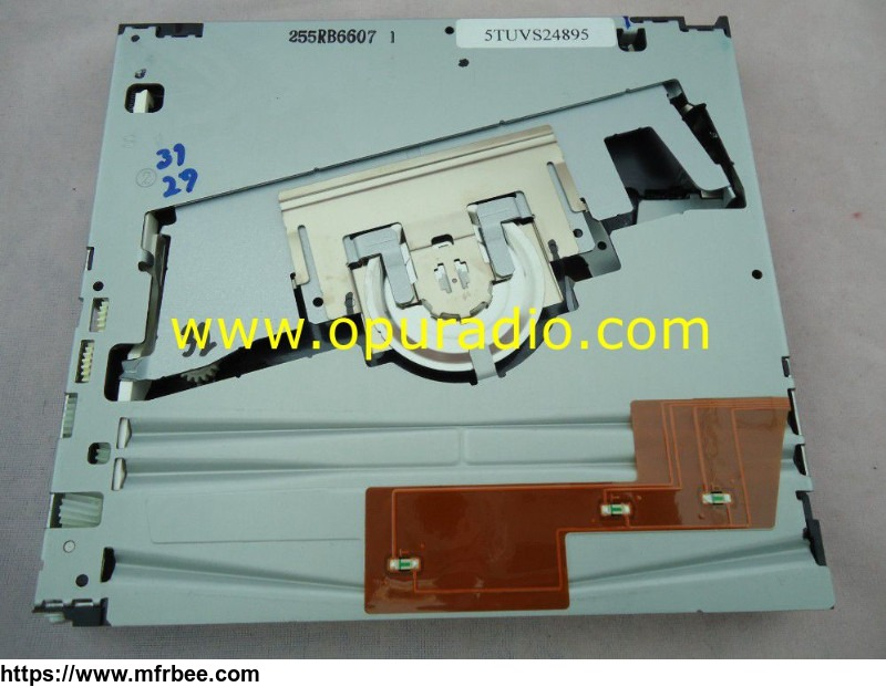 matsushita_single_dvd_drive_loader_deck_mechanism_pcb_e_9724_for_gm_gmc_ford_rear_seat_entertainment_2006_2010_toyota_sienna_overhead_roof_dvd_video_player_audio_meida