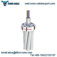 Single Mode Ground Wire OPGW Fiber Optic Cable