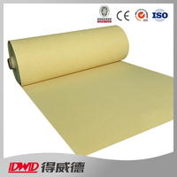 corrosion resistant thermal fiber felt PPS needle filter material