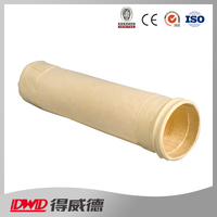 high quality Needle punched fabric media Milter filter bag