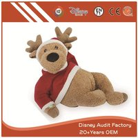 more images of Plush Kids Toys Christmas Filling 100% PP Cotton Embroidery
