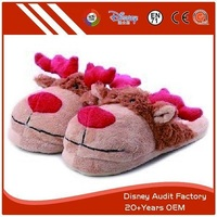 more images of Plush Elk Slippers