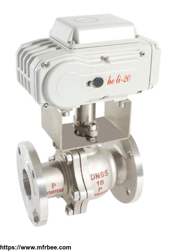 hl_50_500_nm_series_actuator_ac_220v_modulating_type_actuated_ball_valve