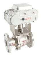 HL-50 500 NM series actuator AC 220V modulating type actuated ball valve