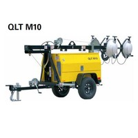 QLT M10 220V Industrial Waterproof Receptacle Construction Light Tower Generator