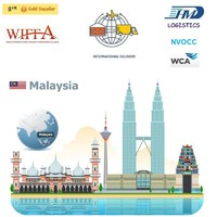 FCL logistics services sea freight from hong kong to malaysia