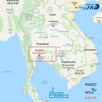 Sea freight shipping from China to Thailand