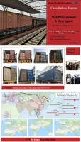 Railway freight from China to Duisburg Germany shipping agent