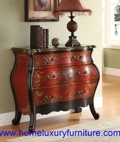 Chest of drawers wooden cabinet living room furniture 90016