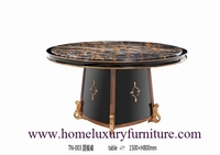 dining table antique round dining table style TN-003