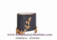 classical night stands wooden handcraft bedroom furniture TB-002