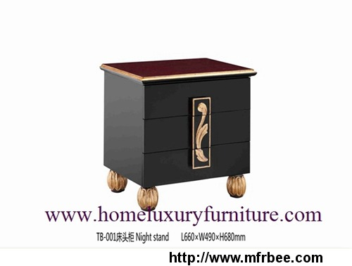 night stands wood cabinet bedroom furniture TB-001