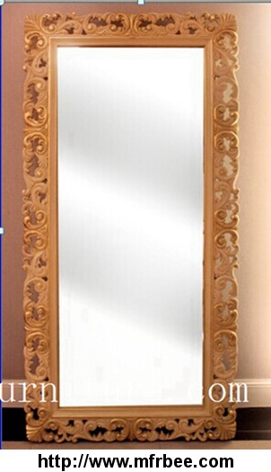 classical_mirror_wooden_frame_mirror_stand_mirror_fg_105