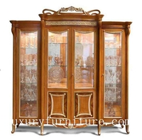 antique china cabinet decoration cabinet FJ-128C
