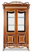 china cabinet solid oak china cabinet FJ-128