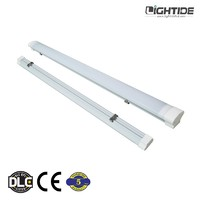 Lightide Vapor-Tight Rated LED Interior/Exterior Garage Light for High Bay Lighting, 15W-60W, 100-277VAC & 5-year Warranty