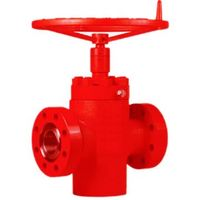 Forged Steel API 6A manual operator FC gate valve with Flange End