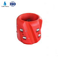 API 10D 5 1/2- 13 3/8 casing roller centralizers for cementing
