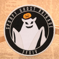 Spoopy Ghost Brigade Custom Patches