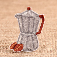 Coffeepot Custom Patches Online