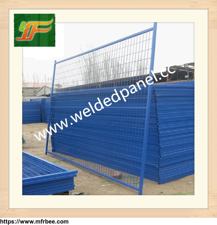 Canada and Australia standard galvanized powder coated moving temporary welded fence