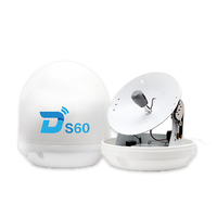 Ditel S60 60cm Ku-band ship marine satellite TV antenna for watching TV