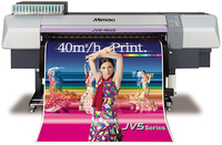 MIMAKI JV5-130S SOLVENT INK JET PRINTER (ArizaPrint)