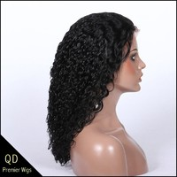 Malaysian Virgin hair water wave full lace wigs