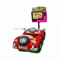 New Style High Quality  Swing Car Arcade Game Machine Display Screen Coin Operated Ride On Car Kids Electric