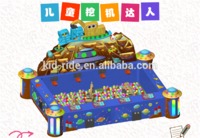 Chinese Supplier Amusement Machine Mini Kids Excavator Playground Games Children Digger Toy